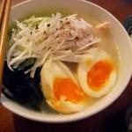 こんにゃく麺レシピ 8/27 肌寒い日の鶏塩そば。