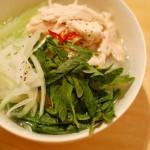 野菜たっぷり晩ご飯 9/24 鶏スープ春雨。