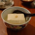 家飲み献立 10/20 蒸し野菜のごま塩だれ、豆腐の生姜あんなど。