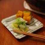 家飲み献立 10/25 春雨の中華風煮込みと白菜の浅漬けなど。