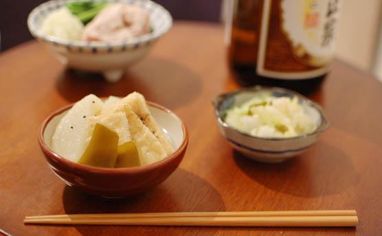 家飲みメニュー 日本酒のおつまみ 141229d