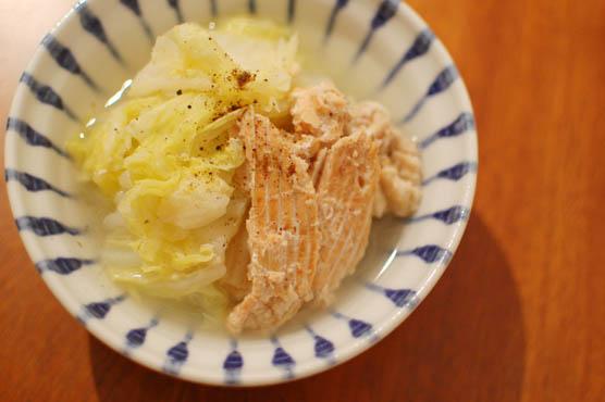 鮭の中骨水煮缶レシピ 150126d7