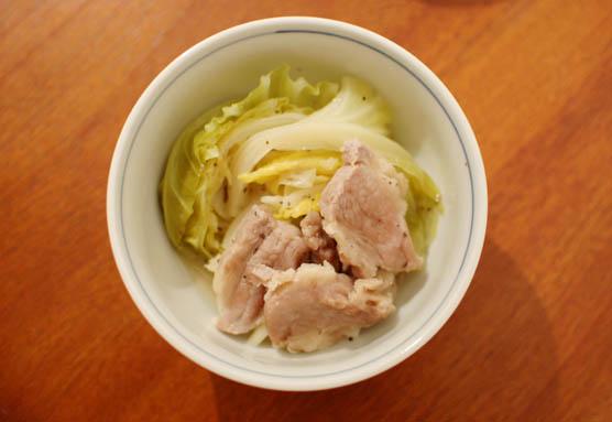 塩豚とキャベツの蒸し煮 レシピ