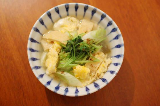 油揚げと三つ葉の卵とじ レシピ
