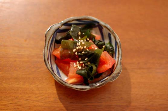 トマトとわかめのサラダ レシピ