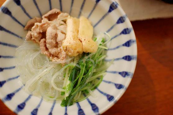 豚肉と水菜のハリハリ鍋 レシピ