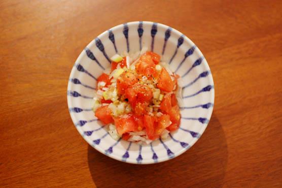 トマト納豆 レシピ
