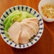 蒸し鶏とキャベツのエスニックソース レシピ
