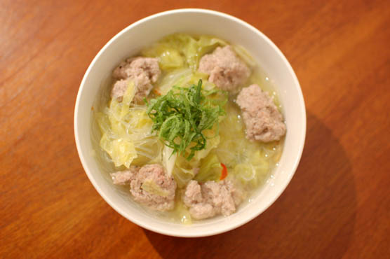 春雨入り肉団子とキャベツの煮込み レシピ