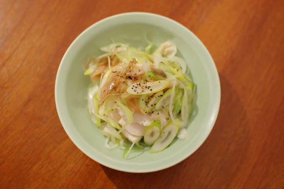 蒸し鶏の葱ザーサイ レシピ