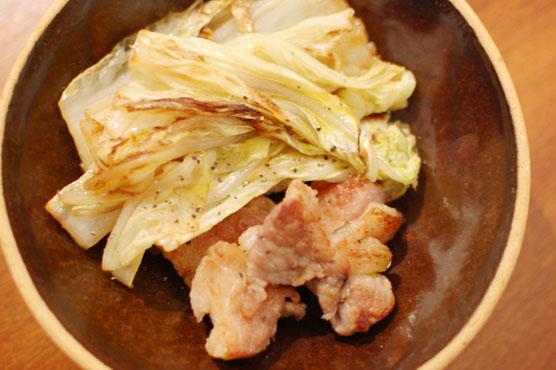 塩豚と白菜のソテー レシピ