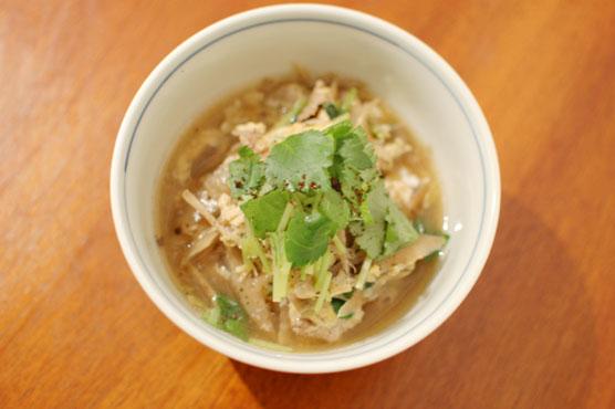 豚と牛蒡の柳川風 レシピ