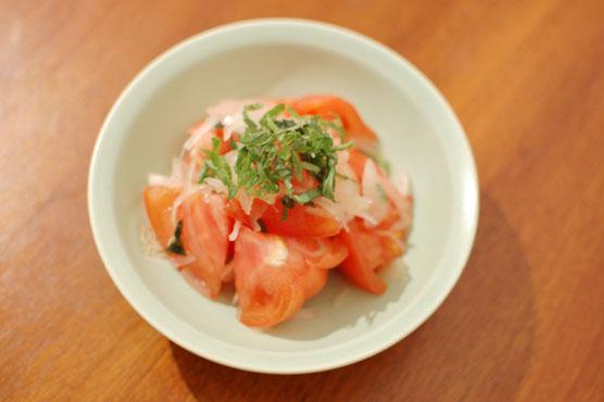 トマトと大葉のサラダ レシピ