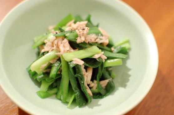 ツナと韮のサラダ