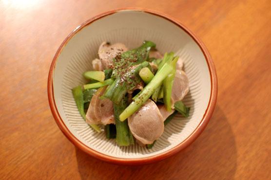 砂肝のポン酢漬け レシピ