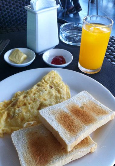 セブ島ホテル朝食
