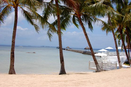 パシフィックセブリゾート プライベートビーチ