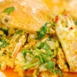 一人でもプーパッポンカリーが食べたい!バンコク女性一人旅の食事 その2。