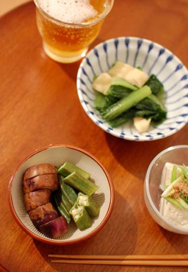 野菜のおつまみ