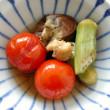 夏野菜の焼きびたし