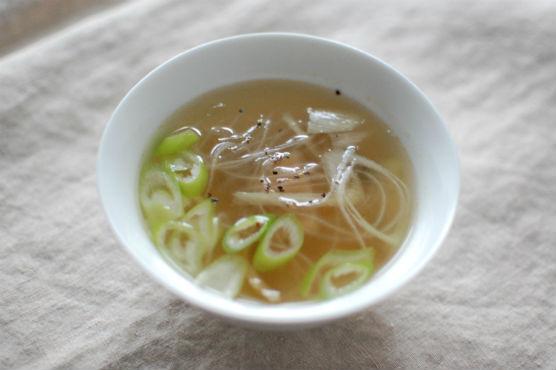 春雨とザーサイのスープ