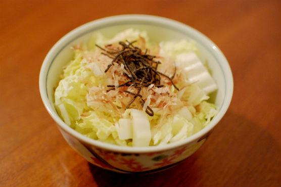白菜のサラダ
