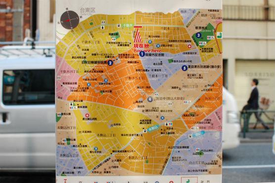 文京区地図