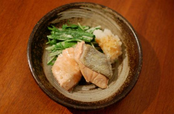 秋鮭 おろしポン酢