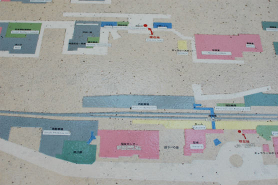 益子駅 地図