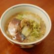 鯖と白菜の味噌煮込み