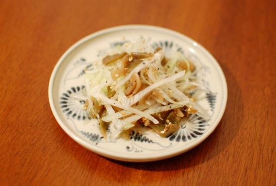 ザーサイと葱の和え物
