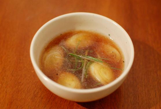 葱のスープ