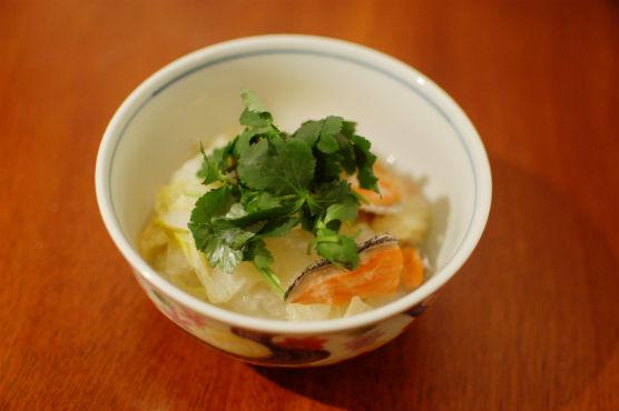 塩鮭と白菜のみぞれ煮