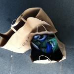 今日捨てたもの 紙袋2つだけの荷物でお引っ越し。