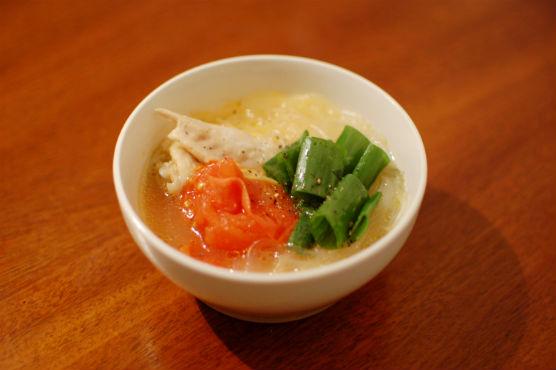 鶏出汁トマトスープ