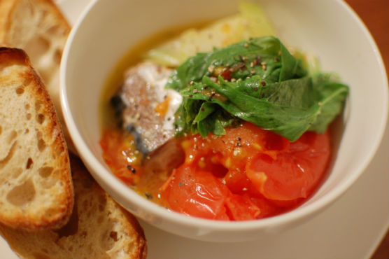 鯖のトマト煮
