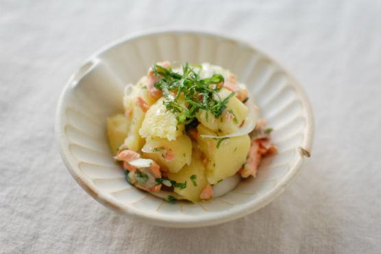 鮭の和風ポテトサラダ