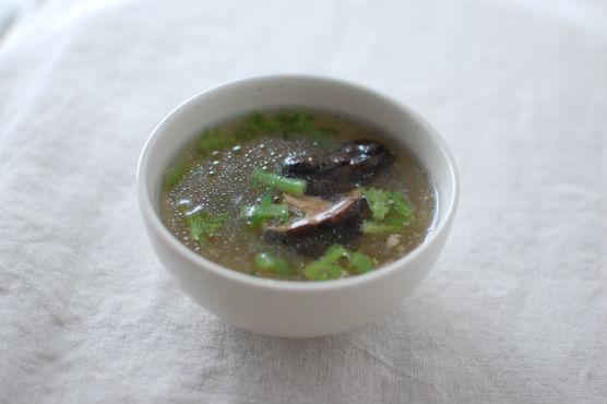 椎茸と春雨のスープ