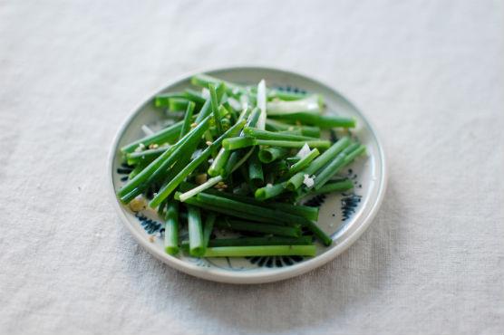 小葱のサラダ