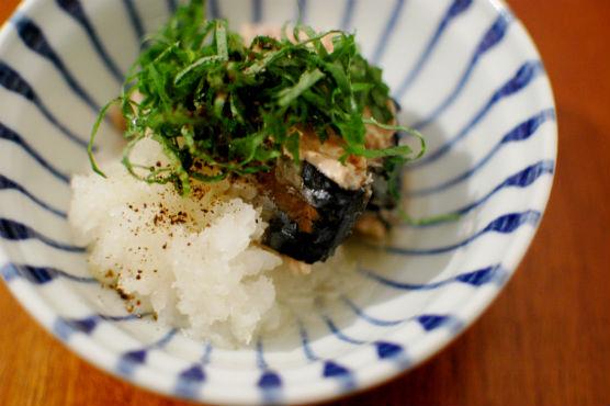 鯖の水煮缶レシピ