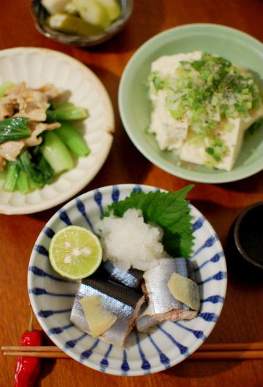 秋刀魚献立