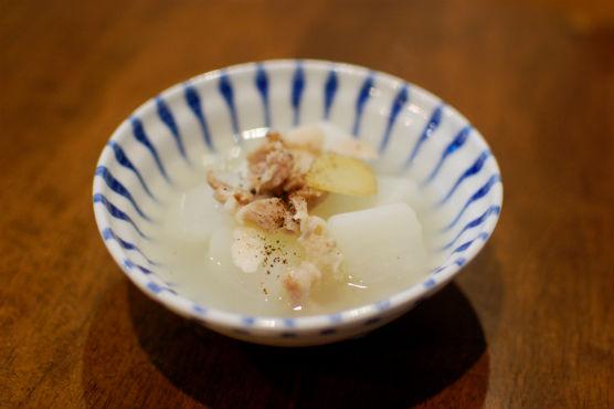 塩豚と大根煮
