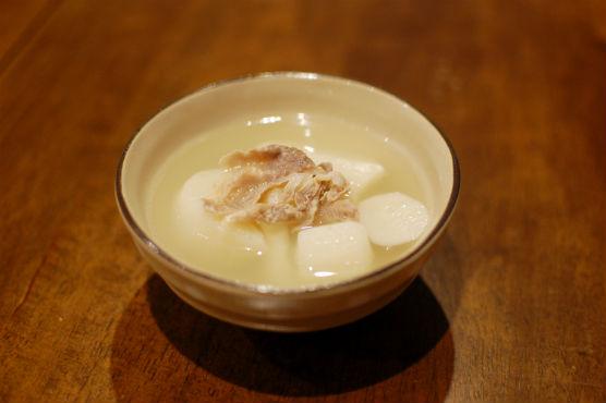 塩豚と大根のスープ