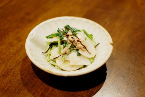 蕪とツナのサラダ