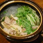 豚と水菜のはりはり鍋で2016年の家飲み納め。