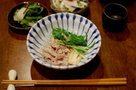 豚と水菜のはりはり鍋