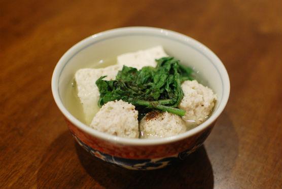 鶏団子豆腐
