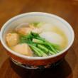 塩鮭と蕪の味噌煮込み