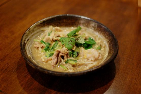 豚とごぼうの柳川煮