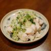 蒸し鶏ネギソースの献立とレシピ